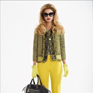 Kate Spade Tweed Beaded Jacket